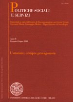 POLITICHE SOCIALI E SERVIZI - 2004 - 2