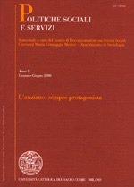 POLITICHE SOCIALI E SERVIZI - 2006 - 1