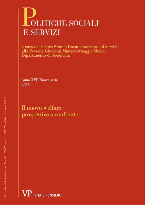 POLITICHE SOCIALI E SERVIZI. Abbonamento annuale 2005
